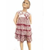 Buy cheap Isobella & Chloe Lace & Tulle Empire Girls Holiday Rosie Dress from wholesalers