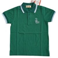 Buy cheap Boy TC Pique Green Polo T-Shirt from wholesalers
