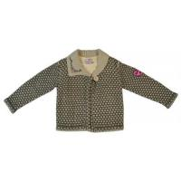 Buy cheap Turn-down Collar Girls Button Cardigan Fashion Jacquard Sweaters from wholesalers