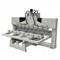 Quality Multi heads cnc router for wood furniture for sale
