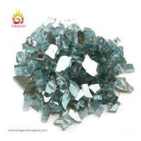 Quality Crystal Reflective Tempered Fire Pit Glass Chips For Outdoor Antique Fire Pit Decoration for sale