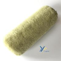 China Fy 9 Stitch Foam Base Green Paint Roller Cover on sale
