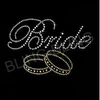 Quality STOCK DESIGN Bride with ring rhinestone transfer 02 for sale