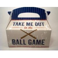 Quality Take Me Out To The Ball Game Gift Tote Vegetarian All Natural Treats for sale