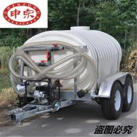 Quality Cheaper Price 3000L Plastic Water Tank Trailer for sale