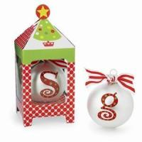 Quality Monogrammed Christmas Ornaments for sale
