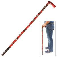 China Cane Swords & Walking Sticks Handcrafted Eucalyptus Tribal Wars Walking Cane on sale