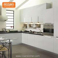 Quality Low Cost Refacing White Painted Modern Cabinets in Kitchen for sale