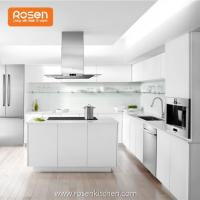 Quality Best White Ready Made White Painted Stained Custom Kitchen Cabinets for sale