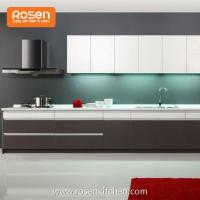 Quality Best Quality DIY Plywood White Melamine Kitchen Cabinets for sale