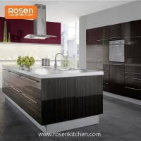 Quality Build in New Painting High Gloss Wood Grain Formica Laminate Kitchen Cupboards Cabinets for sale
