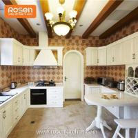 Quality Modern Wooden New Country Style Hand Painted Solid Dark Oak Kitchen Beautiful Kitchen Cabinets for sale