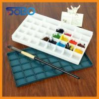 PU Cover PP Painting palette box