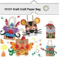 China Kraft Small Paper Bags For Arts And Crafts And Kids Hobby Idea on sale
