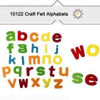 China Lowercase Soft Felt Alphabet Letters For Diy Kids Arts And Crafts Supplies on sale