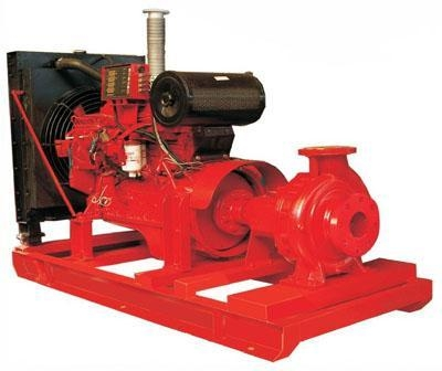 China Diesel Fire Pump End-suction Type(pdf)
