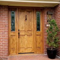 China Customized Solid Wood Door on sale