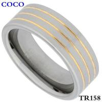 China TR158 Tungsten Carbide Wedding Ring Two on sale