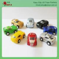 China Novelty And Cheap Mini Transparent Windows Pull Back Car With Painting For Sale on sale