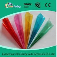 China ColorRacing colorful decorative glass film on sale