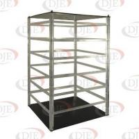 Best Jewelry Displays 96 Piece Acrylic Revolving Earring Display - Clear wholesale