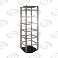 Best Jewelry Displays 48 Piece Acrylic Revolving Earring Display - Clear wholesale