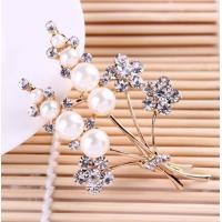 Quality High - Grade Pearl Alloy Brooch Corsage Wild Clothing Accessories for sale