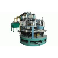 Quality 100-125mm Semi-automatic rotary type grinding wheel making machine for sale