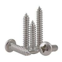 Quality Stainless Steel 316 304 201 Wafer Head Phillips Tapping Screw for sale