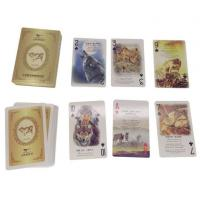 China Custom Promotional Product and Advertising Playing Cards Both Side Printing on sale