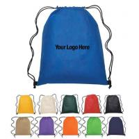 Quality Drawstring Cinch Pack Backpack Liberty Bags Large Nylon Sack Polyester Bags for sale