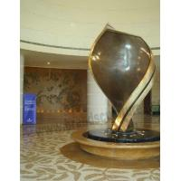 China Creating and Ideal Brass Sculpture for Hotel Decoration on sale