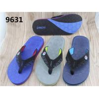 Pu Slipper With Nubuck Strap Male Slippers Man Slipper