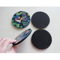 China Novelty Coasters Unique Designer EVA Cup Non Skid Mat Factory on sale