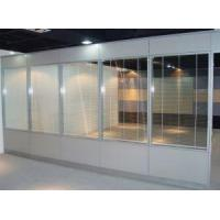 Quality Aluminium Divider Partition /office Glass Dividers Office Dividing Cubicle Screen for sale