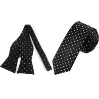 Quality Polka Dot Tie Or Bow Ties For Men for sale