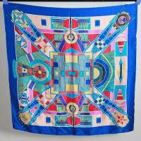 China Factory Direct Custom Digital Printed Chinese Silk Scarf on sale