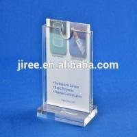 China Acrylic Restaurant Menu Card Sign Holders Stand For Tables on sale