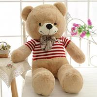 China Large teddy bear with t-shirt on sale