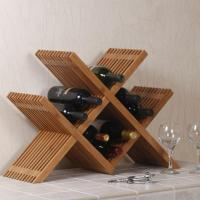 Quality Bamboo Crafts for Red Wine Bottle Storage of Bamboo Rack for sale
