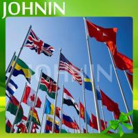 Quality Hot Selling All Size Of Polyester Fabric Johnin Country National Flag for sale