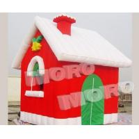 Best Inflatable Christms House Santa House/Outdoor Inflatable Christmas Decoration wholesale