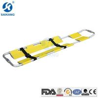 China Aluminum Alloy Emergency Patient Scoop Stretcher for Ambulance on sale