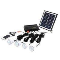 Best 4W Home Pico Solar Energy Systems Phone Charging LED Bulbs Lighting wholesale