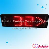 China Led clock queue management display system on sale