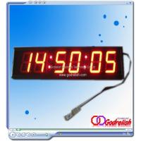 China Led clock remote control led clock Mobel number:GC406 on sale