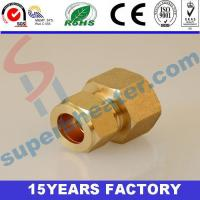 China Fastener, brass Fittings copper solar HoS chaw' tlhay Copper Connectors. on sale