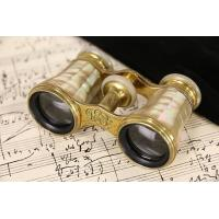 China French 1900 Antique Pearl Opera Glasses, Signed Lemaire, Paris & Seattle on sale