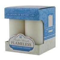 Best Flameless Candles FLA-CAN-VOT-4PK wholesale