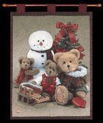 CHRISTMAS Woolseys Boyds Wallhanging with Rod